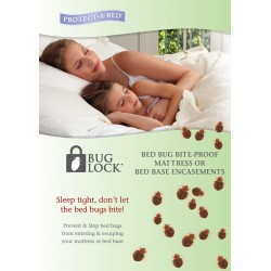Bug Lock KING Bed Mattress...