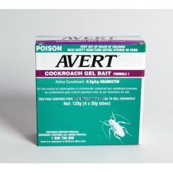 4x Avert Cockroach Gel