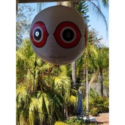3x Scare Eye Balloon Ball Bird